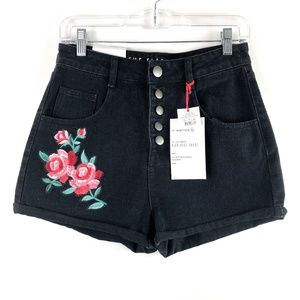 Cotton On Shorts - Cotton On The Flashback High Rise Floral Shorts